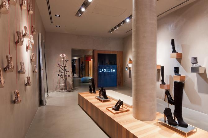 Le scarpe di Le Silla