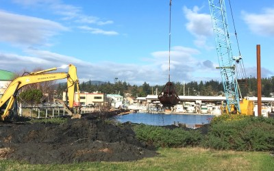 Dredging Begins at Skyline Marina!