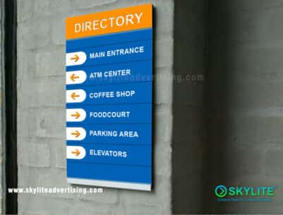 Directory Sign Maker Philippines