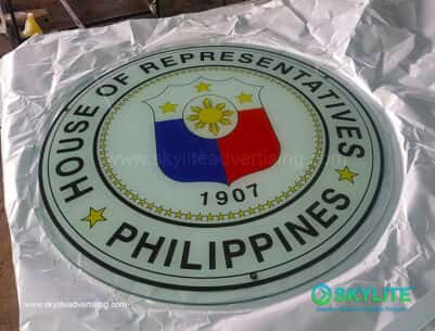 UV Printed on Glass Sign Maker Philippines