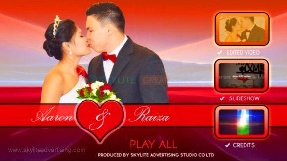 Wedding DVD Features Presentation