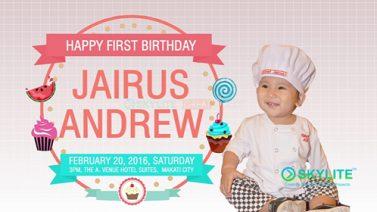jairus_1st_birthday_intro