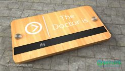 door_sign_6-25x11_plyboard_with_formica_doctor_is_in00001