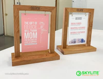 Table Top Sign Maker Philippines