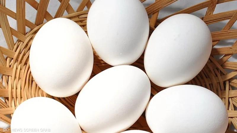 ما الفرق بين البيض الأبيض والبني؟