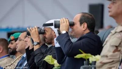 حضر الشيخ محمد بن زايد مراسم الافتتاح.