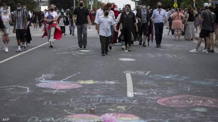 مسيرة كبيرة لتكريم ضحايا الهجوم