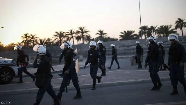 أفراد من الشرطة البحرينية في العاصمة المنامة