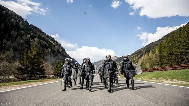 عناصر من الشرطة الإيطالية (أرشيفية)