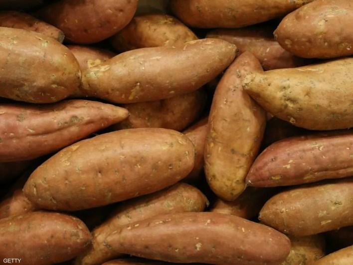 البطاطا الحلوة تحتوي على معذيات مفيدة في التحكم بالسكري