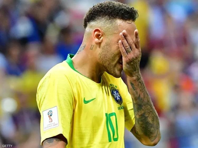 """نيمار خارج قائمة """"أعظم 10 في البرازيل"""""""
