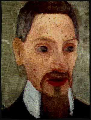 Rainer Maria Rilke painted by Paula Modersohn-Becker
