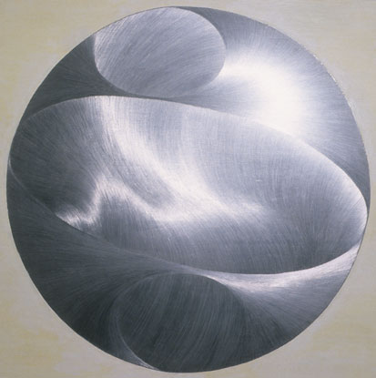 Sky Pape Silver Lining graphite drawing and milk paint drawing on board