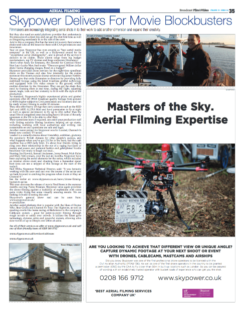 Broadcast Film and Video Article