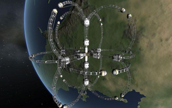 Kerbal Space Program Huge Space Station page 2 Pics