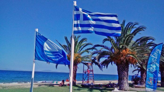 34 Γαλάζιες σημαίες στη Ρόδο | Δεύτερη  η Ελλάδα παγκοσμίως