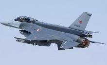 Tουρκικά F-16 πάνω από την Κίναρο