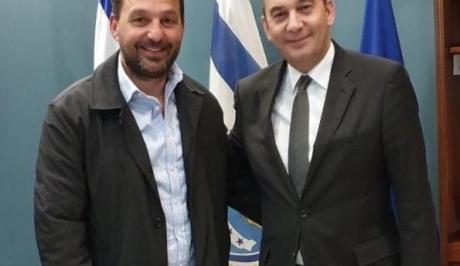 Με τον Γ. Πλακιωτάκη ο δήμαρχος Χάλκης