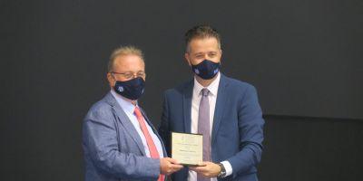 Τιμήθηκε για την πολυετή προσφορά του στην ΠΟΞ ο Άρης Σουλούνιας