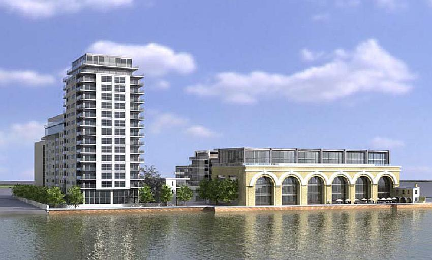 Current design for Brothwick and Paynes Wharf
