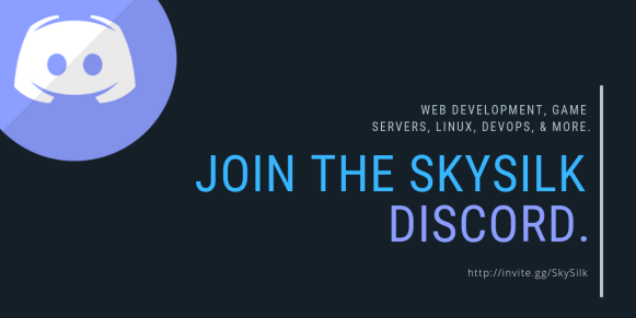 Join the SkySilk Discord to discuss all things Linux VPS