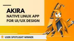 Akira: A Native Linux App for UI & UX Design