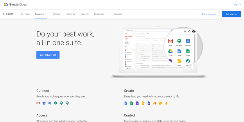 Productivity tool: G Suite, an all around  great cloud solution aside from cloud storage