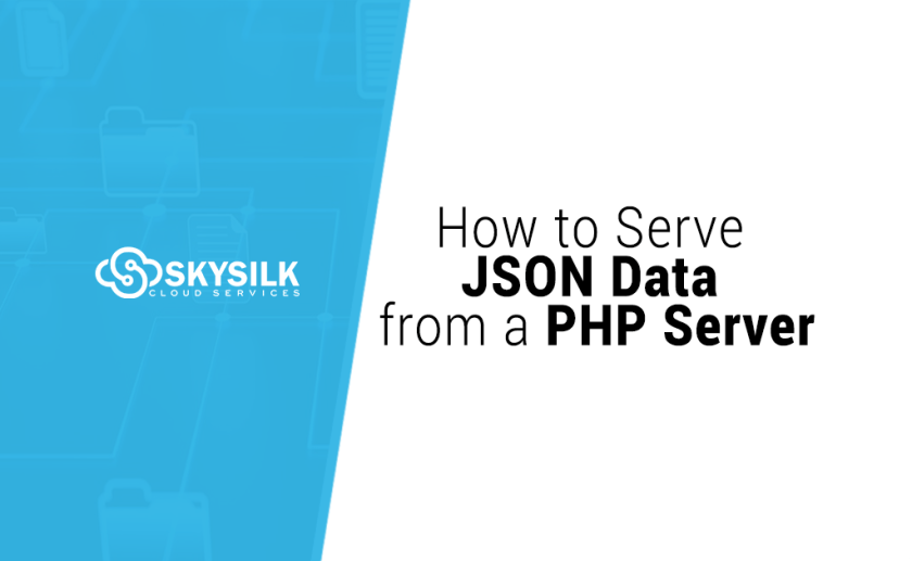How to Serve JSON Data from a PHP Server