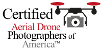 Certified Member of Aerial Drone Photographers of America
