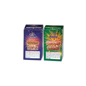 Friendship Fountain - Box Fountain Fireworks