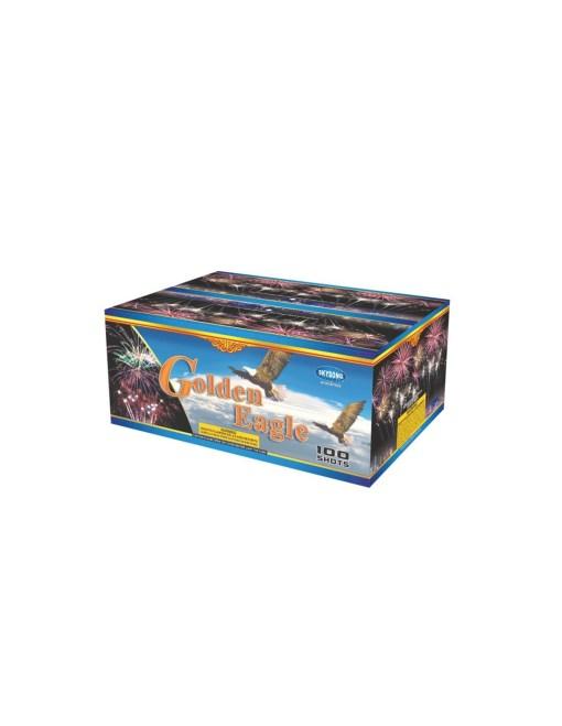 Golden Eagle 100Shots Fan Cake (Colour Box)