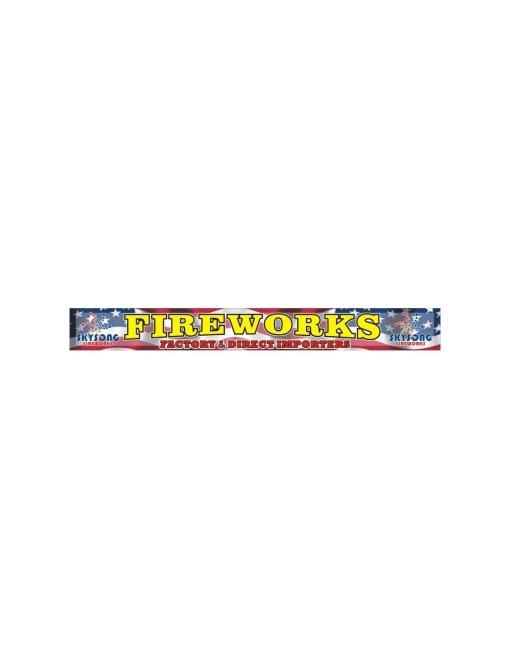Banner Fireworks 31'X3'