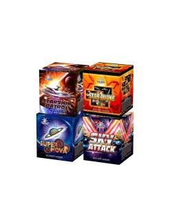 Starship Patrol/Super Nova/Star Quake/Sky Attack Assorted 16S