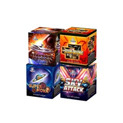 Starship Patrol/Super Nova/Star Quake/Sky Attack Assorted 16S