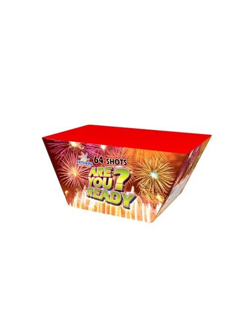 Are You Ready 64Shots Fan Cake