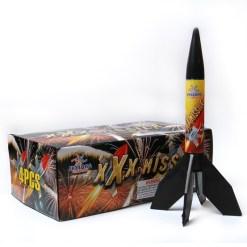 missile fireworks