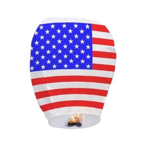 Sky lantern american