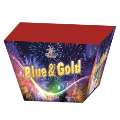 BLUE AND GOLD FIREWORKS