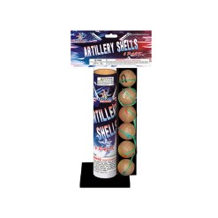 6pack artillery shells fireworks