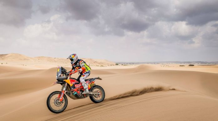 52 Walkner Matthias aut, KTM, Red Bull KTM Factory Team, Moto, Bike, action during the 11th stage of the Dakar 2021 between Al-Ula and Yanbu, in Saudi Arabia on January 14, 2021 AUTOMOBILE : DAKAR 2021 - Arabie saoudite - 11eme etape - 14/01/2021 DPPI/PANORAMIC PUBLICATIONxNOTxINxFRAxITAxBEL