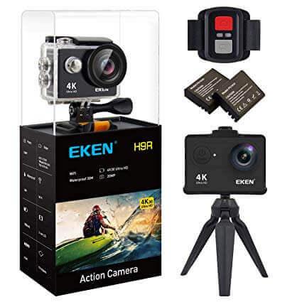 EKEN H9R Action Camera 4K WiFi Waterproof Sports Camera Full HD 4K 30fps 2.7K 30fps 1080P 60fps