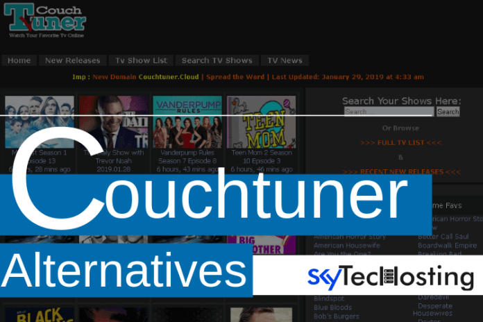 best alternatives to couchtuner