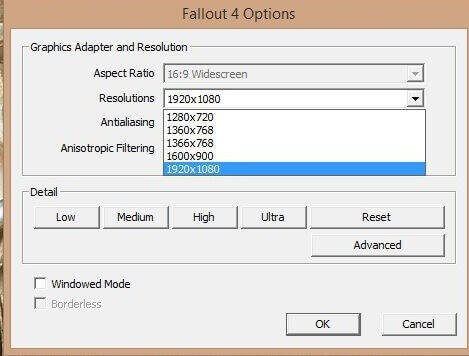 Fallout 4 options