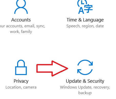 security and update