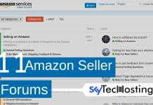 amazon seller forum