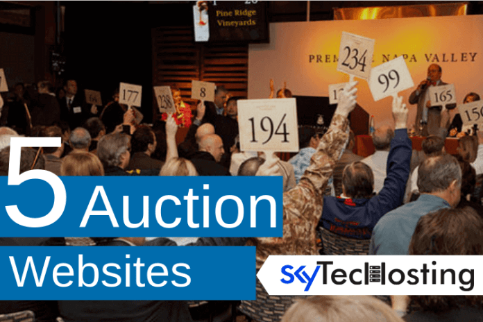 Top 5 Auction Websites Of 2020 Skytechosting