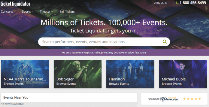Ticket Liquidator