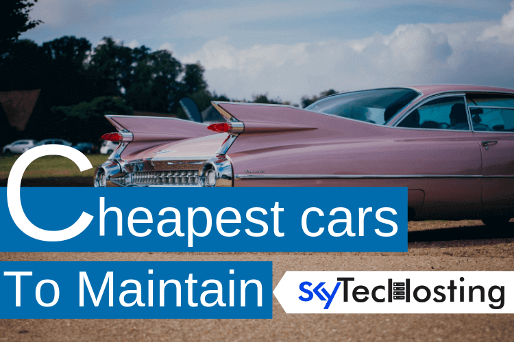 cheapest cars to maintain