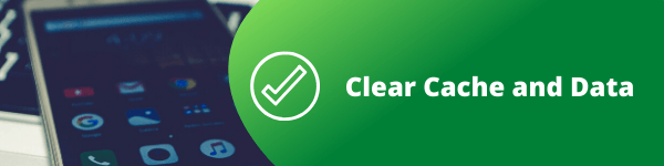 clear app cache