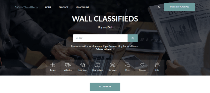 buy and sell ads on Wall Classifieds